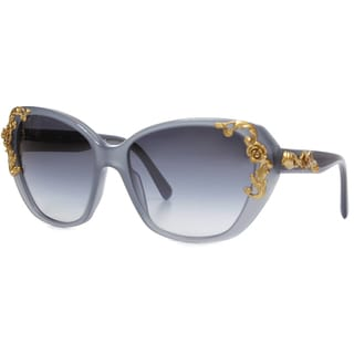 Dolce & Gabbana Women's 'DG 4167 26768G Sicilian Baroque Cat-eye Sunglasses