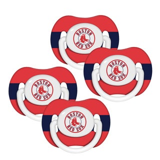 MLB Boston Red Sox Pacifiers (Set of 4)
