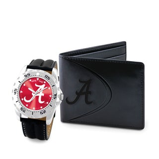 Game Time Alabama Crimson Tide Watch and Wallet Gift Set