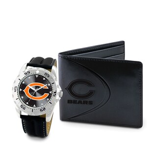Game Time Chicago Bears Watch and Wallet Gift Set