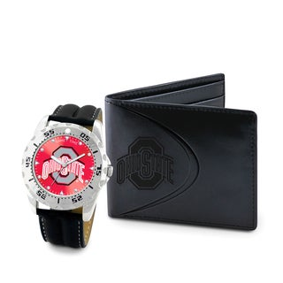 Game Time Ohio State Buckeyes Watch and Wallet Gift Set