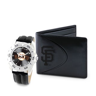 Game Time San Francisco Giants Watch and Wallet Gift Set