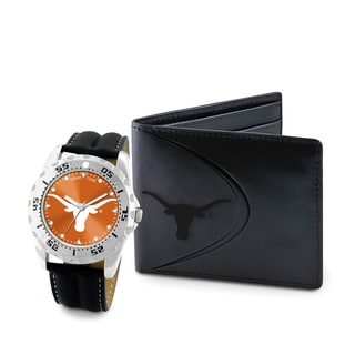 Game Time Texas Longhorns Watch and Wallet Gift Set