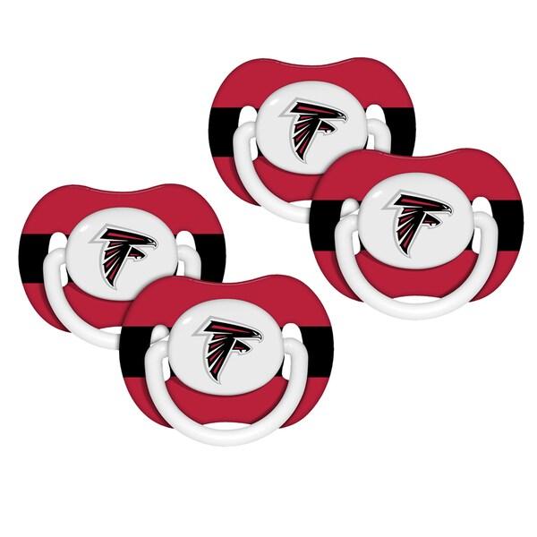 NFL Atlanta Falcons Pacifiers (Set of 4) 12818894