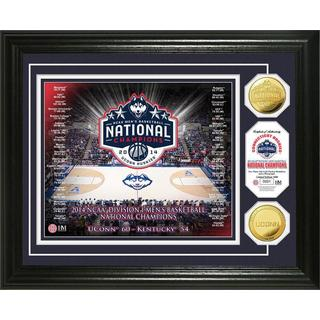 University of Connecticut 2014 NCAA Basketball National Champions Gold Coin Photo Mint