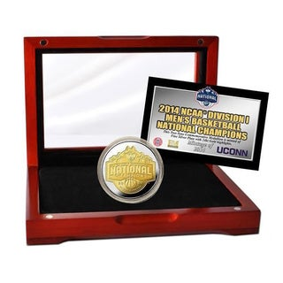 University of Connecticut 2014 NCAA Basketball National Champions Two-Tone Mint Coin