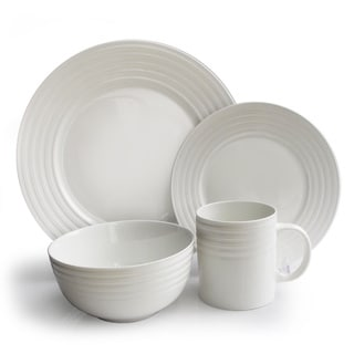 Waverly Concentric Circles 16-piece Dinnerware Set