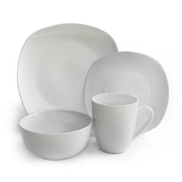 Waverly Geometry 16-piece Dinnerware Set