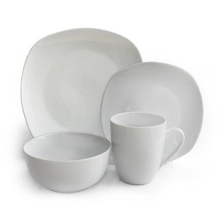 Waverly Geometry 16-piece Dinnerware Set