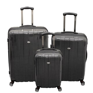American Viaggo Lightweight Hard Side Spinner 3-piece Upright Luggage Set