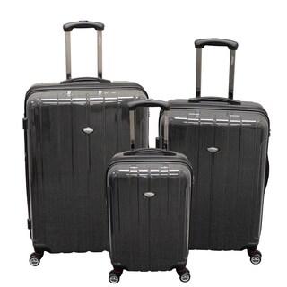 American Viaggo Lightweight Hard Side Spinner 3-piece Upright Luggage Set