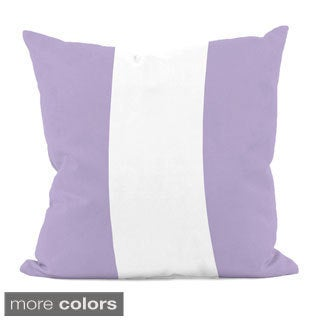 Purple Stripe 16x16-inch Decorative Pillow