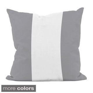 Tri-stripe Neutral 20x20-inch Decorative Pillow