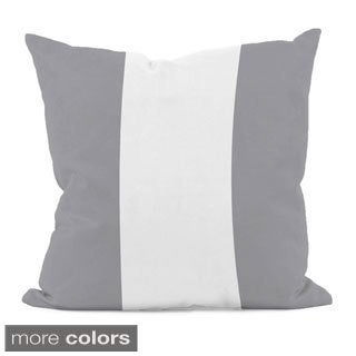 Neutral Color Stripe 18x18-inch Decorative Pillow