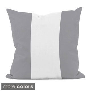 Neutral Stripe 16x16-inch Decorative Pillow