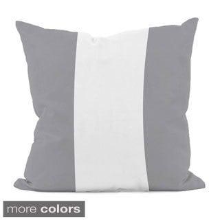Neutral Stripe 16x16-inch Decorative Pillow