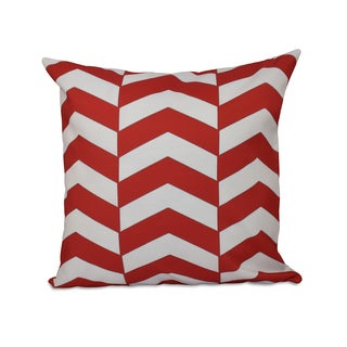 Geometric Zig-zag 20x20-inch Decorative Pillow