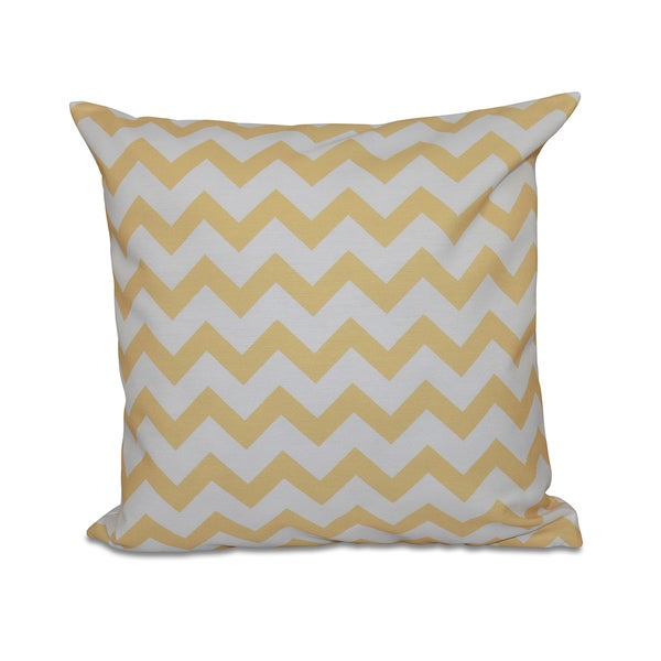 Bright Zig-zag 20x20-inch Decorative Pillow