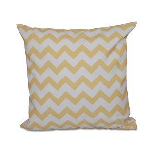 Bright Zig-zag 20x20-inch Decorative Pillow