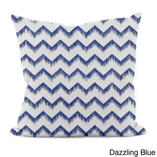 Sketched Zig-zag 20x20-inch Decorative Pillow