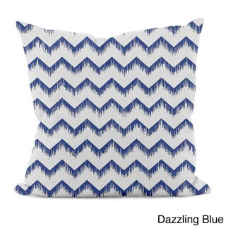 Sketched Zig-zag 18x18-inch Decorative Pillow
