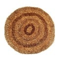 Sea Breeze Gold Area Rug (4.9' Round)