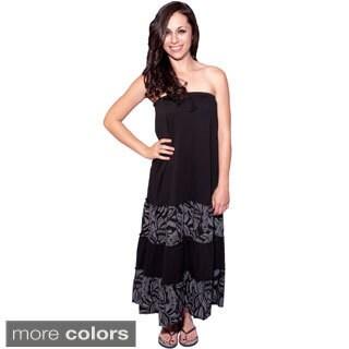 Women's Organic Cotton Boho Skirt/Dress (Nepal)