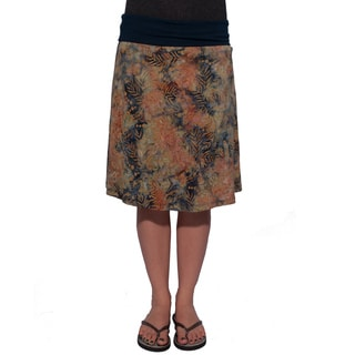 Women's Batik Print Classic Skirt (Indonesia)