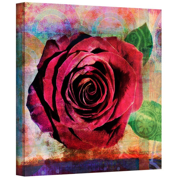 Elena Ray 'Rose' Gallery-Wrapped Canvas 12819567