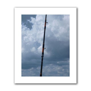 Lora Mosier 'Fishing Anyone?' Unwrapped Canvas