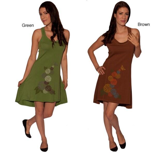 Organic Cotton Women's Weekend Short Dress (Nepal)