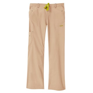 IguanaMed Women's Sahara Tan Legend Cargo Scrubs Pant