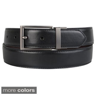 Steve Madden Men's Reversible Topstitched Belt
