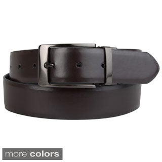 Steve Madden Men's Reversible Feather Edge Belt