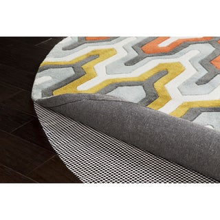 Ultra Lock Grip Reversible Hard Surface Non-slip Rug Pad - White