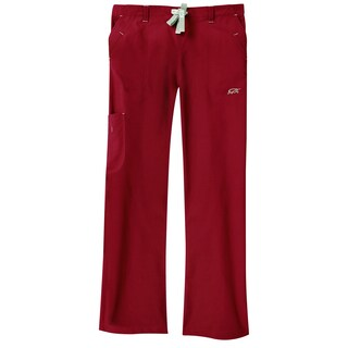 IguanaMed Women's Merlot Legend Cargo Scrubs Pants