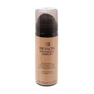 Revlon Photoready Airbrush Mousse Makeup 070 Rich Ginger 1.4 ounces / 39.7g