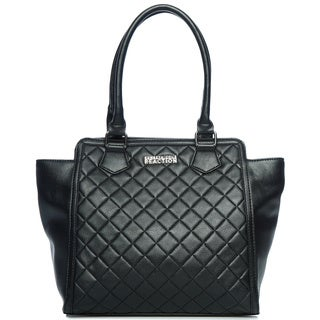 Kenneth Cole Reaction Uptown Black Quilted Tote