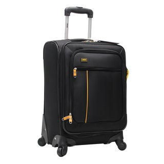 Lucas Chic 20-inch Expandable Spinner Upright Suitcase