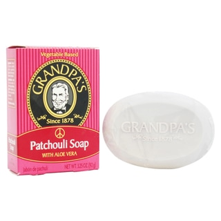 Grandpa's Patchouli Bar Soap with Aloe Vera