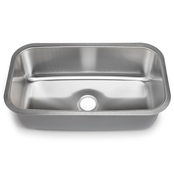Designer Collection 16-gauge Extra-large Single Bowl Sink