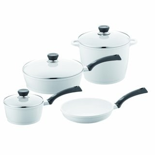 Berndes SignoCast Pearl Ceramic-coated Cast Aluminum 7-piece Cookware Set