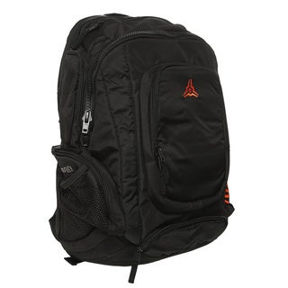 Komunity Suburbia Black/ Orange Laptop Backpack