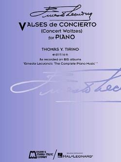 Ernesto Lecuona - Valses De Concierto: Concert Waltzes for Piano (Paperback)