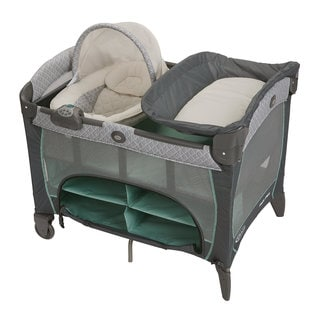 Graco Pack 'n Play with Newborn Napper Station DLX in Manor