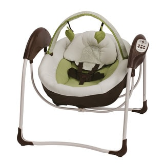 Graco Glider Petite LX Gliding Swing in Go Green