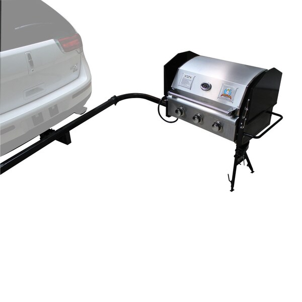 Party King Grills SWING'N Smoke MVP-8412 Large Grill and Large Swing Arm Set