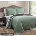 Dayton 3-piece Polyester Reversible Quilt Set