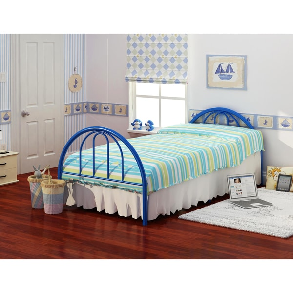 Brooklyn Blue Twin Bed