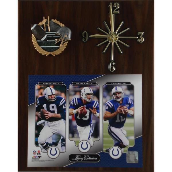 Legacy Indianapolis Colts Clock